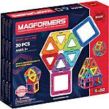 Магнитный конструктор, 30 деталей, MAGFORMERS