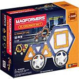 Магнитный конструктор XL Машины, 30 деталей, MAGFORMERS