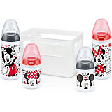 Flaschen Starterset FIRST CHOICE+, PP, Silikonsauger, Gr. 1, Mickey Mouse