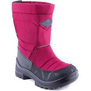 Зимние сапоги для девочки KUOMA - бордовый