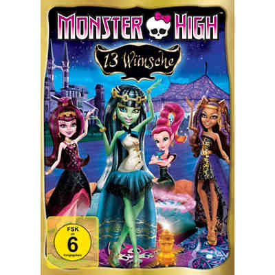 DVD Monster High - 13 Wünsche