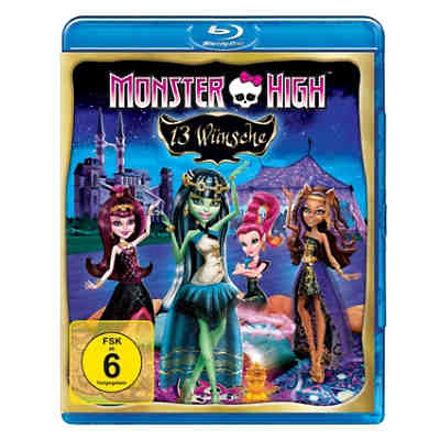 BLU-RAY Monster High - 13 Wünsche