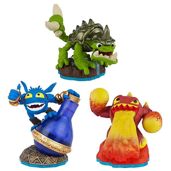 Skylanders Swap Force Triple Pack A - Slobber Tooth, Eruptor, Pop Fizz