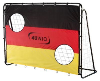 null Fußballtor Champion Germany mit Torwand 213 cm