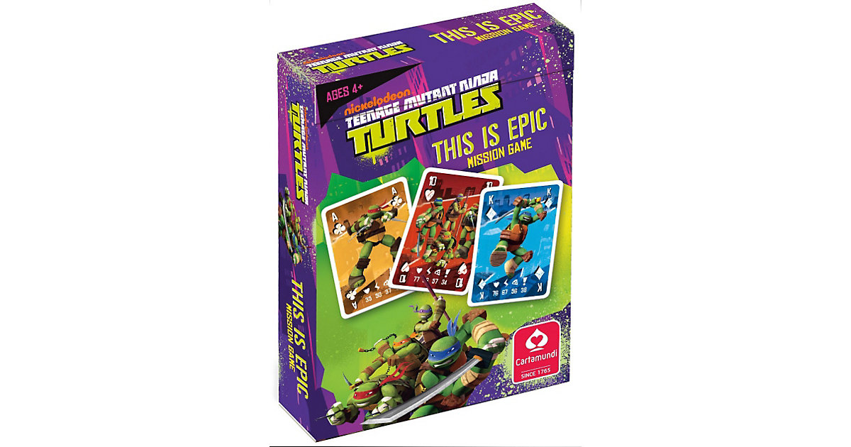 Turtles - 3 in 1 Mission Game