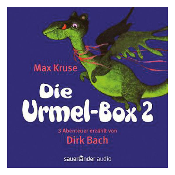 Die Urmel-Box, 6 Audio-CDs