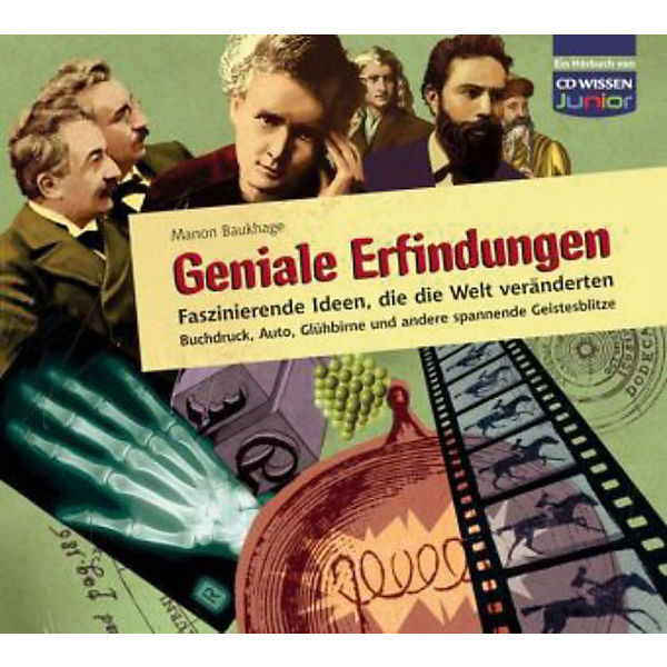 Geniale Erfindungen, 3 Audio-CDs