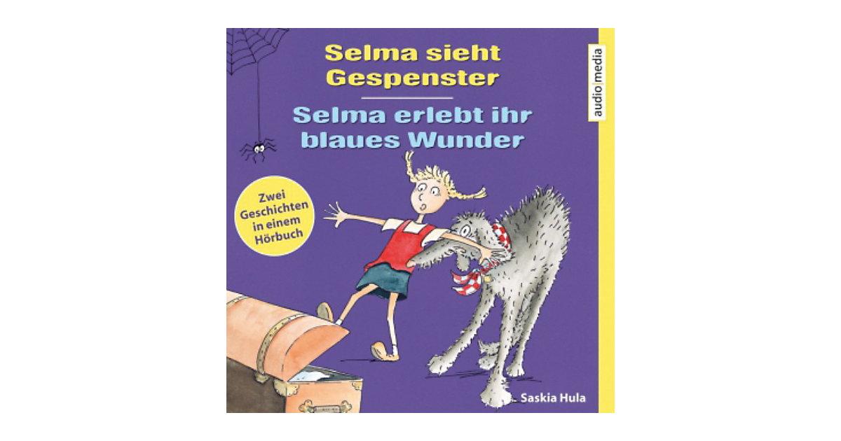 Selma sieht Gespenster / Selma erlebt ihr blaues Wunder, 1 Audio-CD Hörbuch