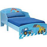 Kinderbett Bagger, 70 x 140 cm