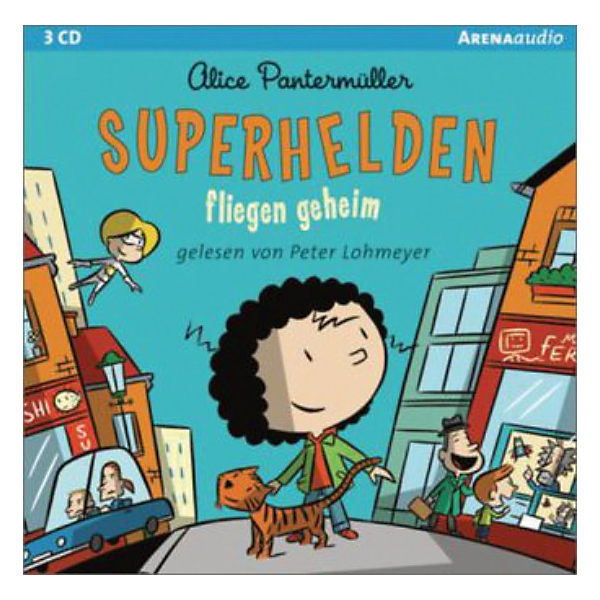 Superhelden fliegen geheim, 3 Audio-CDs