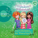 Drei Freundinnen im Wunderland: Das Geheimnis der Wunschperle, 1 Audio-CD
