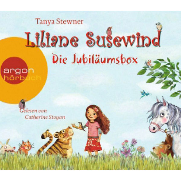 Liliane Susewind: Die Jubiläumsbox, 8 Audio-CDs