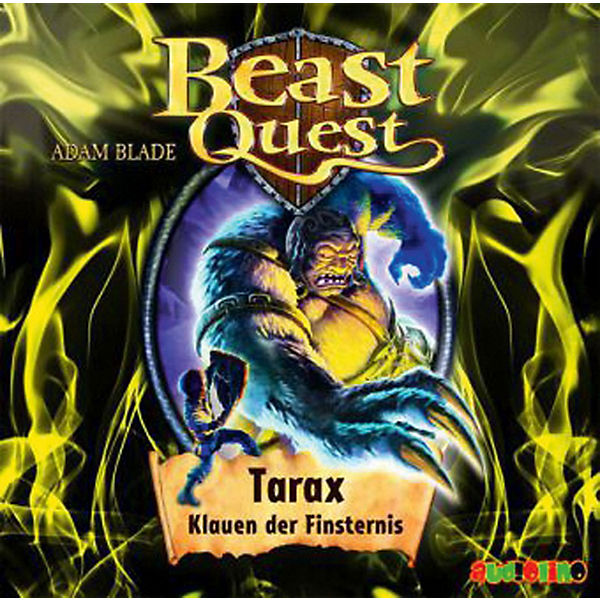 Beast Quest 21: Tarax, Klauen der Finsternis, 1 Audio-CD