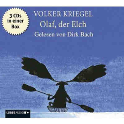 Olaf, der Elch, 3 Audio-CDs