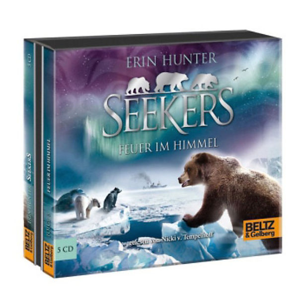 Seekers: Feuer im Himmel, 5 Audio-CDs