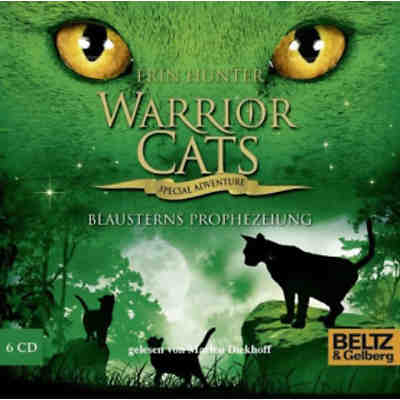 Warrior Cats - Special Adventure: Blausterns Prophezeiung, 6 Audio-CDs