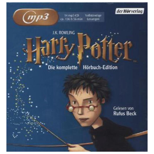 Harry Potter, 14 MP3-CDs