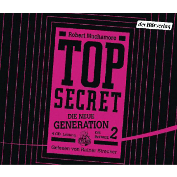 Top Secret - Die neue Generation: Die Intrige, 4 Audio-CDs