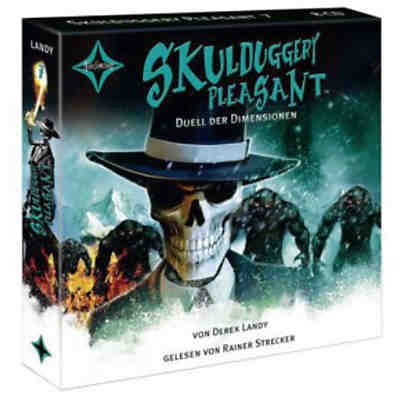 Skulduggery Pleasant: Duell der Dimensionen, 8 Audio-CDs
