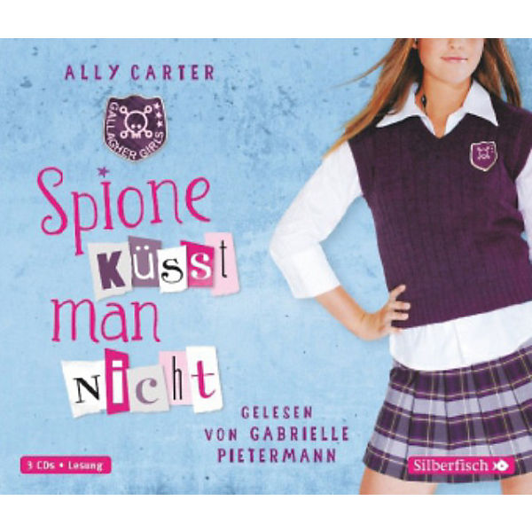 Gallagher Girls: Spione küsst man nicht, 3 Audio-CDs