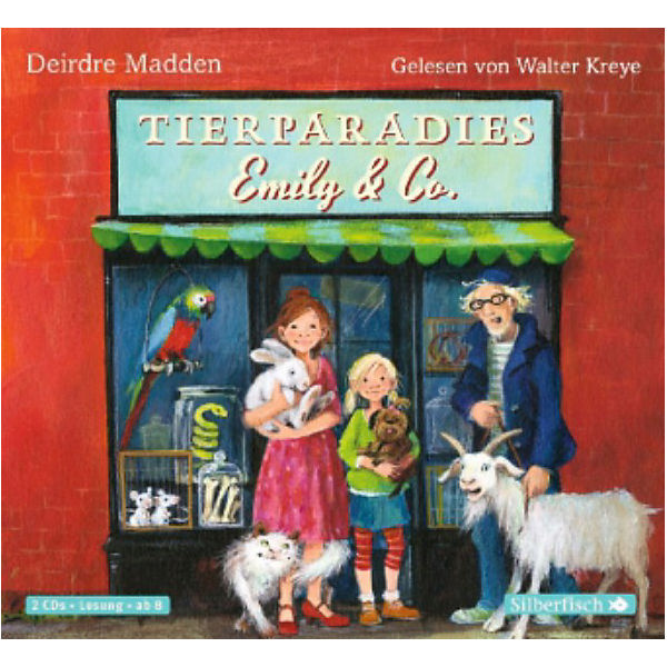 Tierparadies Emily & Co, 2 Audio-CDs