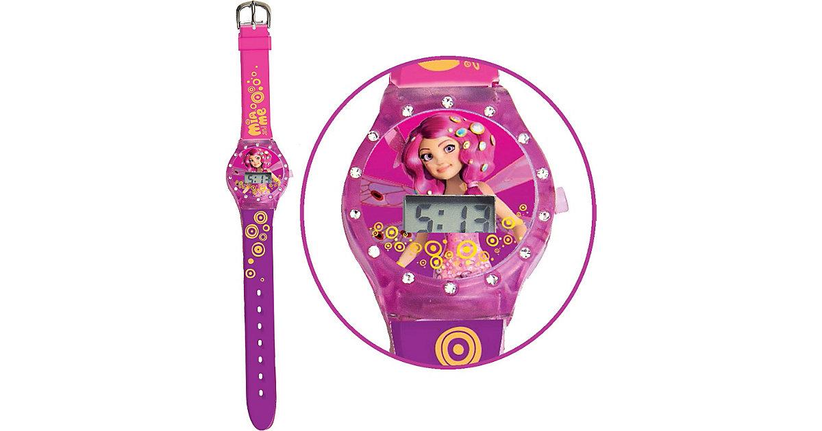 LCD Uhr mit Strass-Steinen Mia & Me Mädchen Kinder