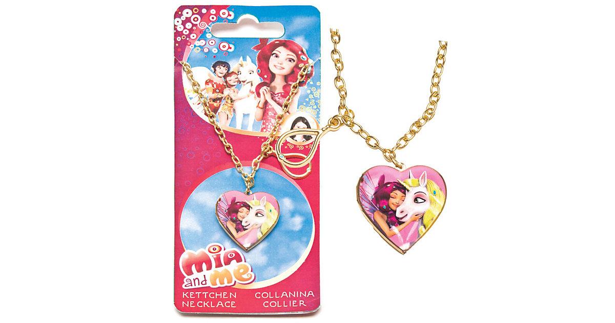 Halskette mit Herzmedallion für Fotos Mia & Me ...