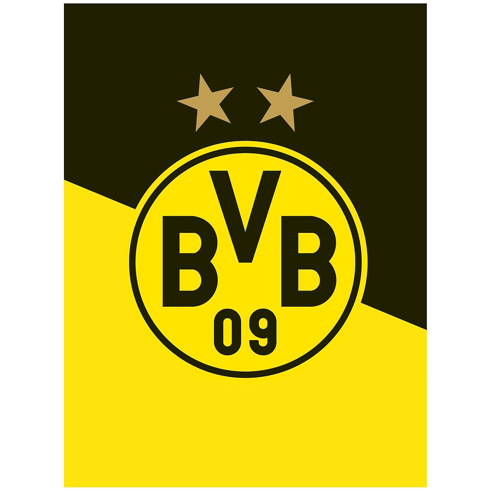 Bertels BVB Fleecedecke Schrägstreifen Preisvergleich