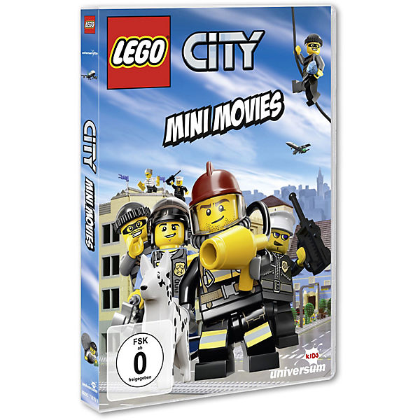 DVD LEGO City - Mini Movies