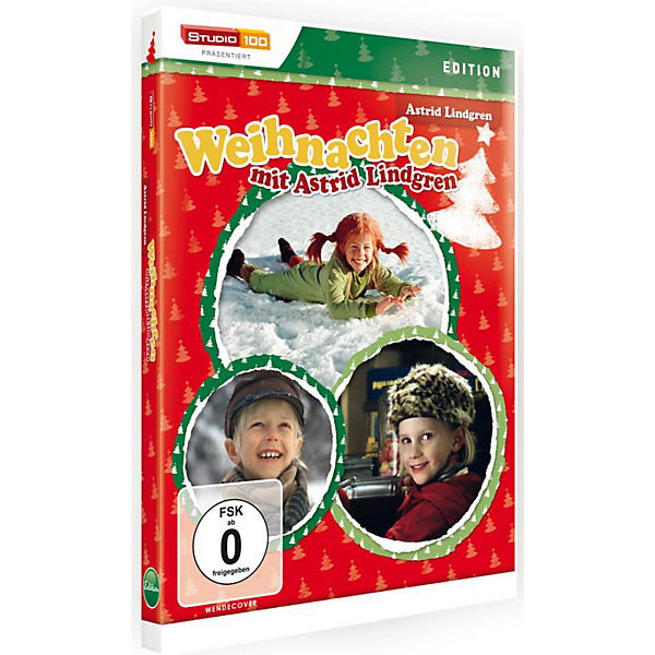 dvd weihnachten mit astrid lindgren pippi langstrumpf. Black Bedroom Furniture Sets. Home Design Ideas