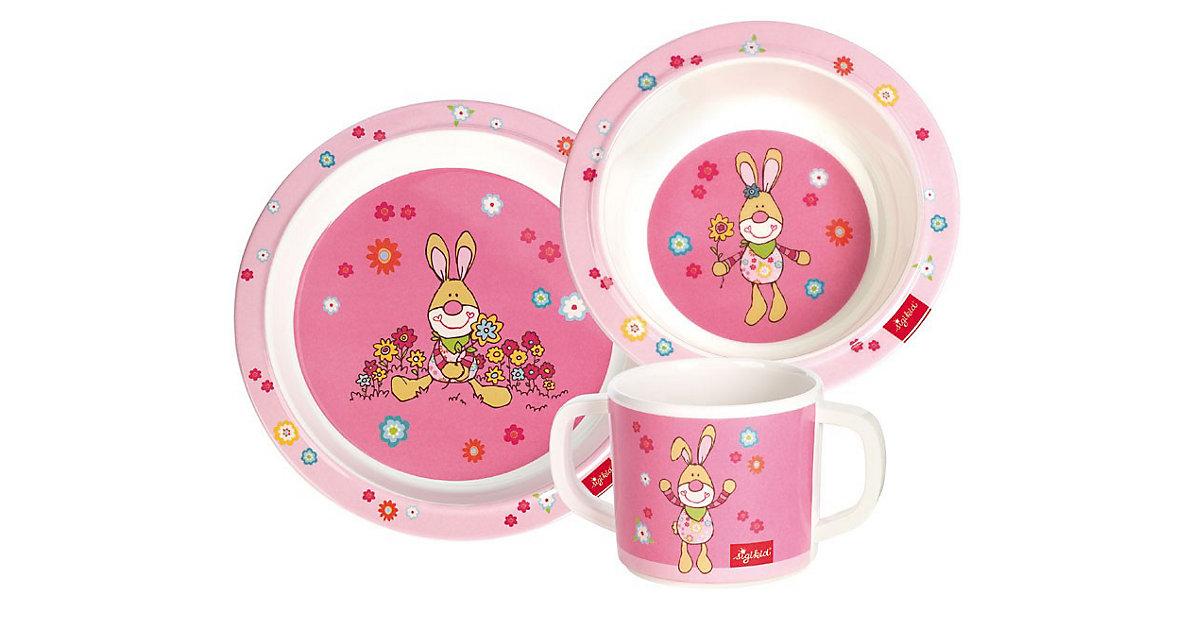 Geschirr-Set Bungee Bunny im Geschenkkarton