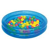 Детский надувной бассейн с 50 шариками для игры, Bestway, в ассортименте