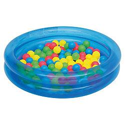 Детский надувной бассейн с 50 шариками для игры, Bestway