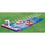 Doppelwasserrutsche mit Boards