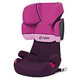 Auto-Kindersitz Solution X-Fix, Silver-Line, Purple Rain, 2016
