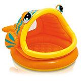 """Бассейн с навесом """"Ленивая рыбка"""", Intex"""