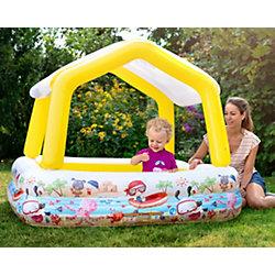 """Детский надувной бассейн """"Домик с навесом"""", Intex"""