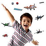 Wandsticker 3D Planes, 9-tlg.