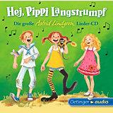 CD Die große Astrid-Lindgren-Lieder-CD - Hej, Pippi Langstrumpf