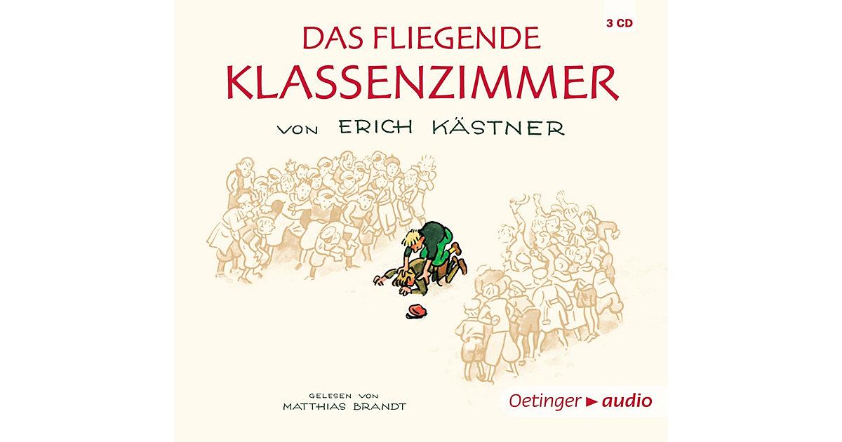 Das fliegende Klassenzimmer, 4 Audio-CDs Hörbuch