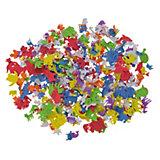 Moosgummifiguren Zoo, 500 Stück