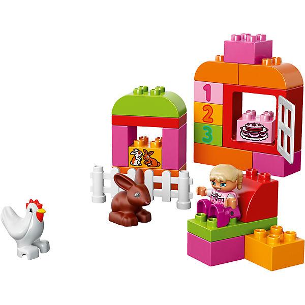 LEGO DUPLO 10571: Лучшие друзья: курочка и кролик
