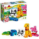 LEGO DUPLO 10573: Весёлые зверюшки