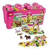 LEGO 10674 Juniors: Große Steinebox Mädchen Ponyhof
