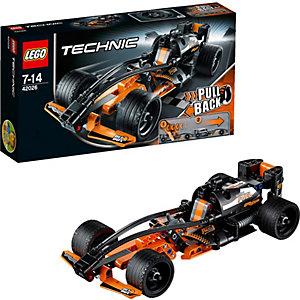 LEGO Technic 42026: Чёрный гоночный автомобиль