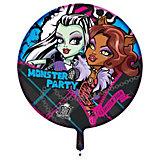 """Шар надувной """"Вечеринка Монстров"""", Monster High"""