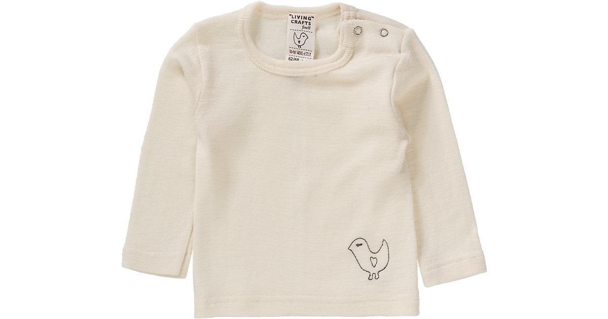 Baby Unterhemd lang Wolle/Seide Gr. 62/68
