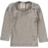 LIVING CRAFTS Baby Unterhemd lang Wolle/Seide