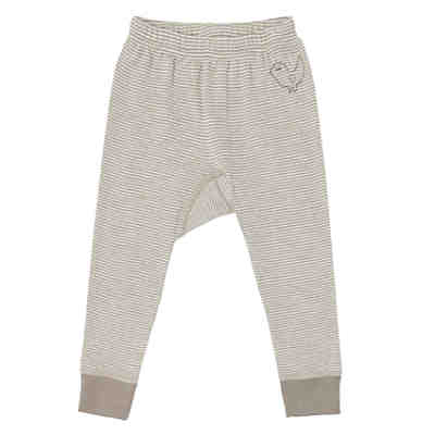 LIVING CRAFTS Baby Unterhose lang Wolle/Seide