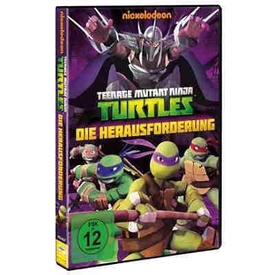 DVD Teenage Mutant Ninja Turtles: Die Herausforderung